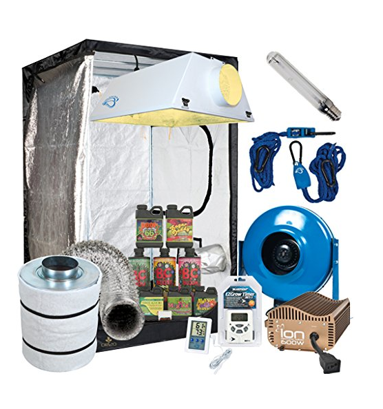 Complete 4 x 4 Grow Tent Package
