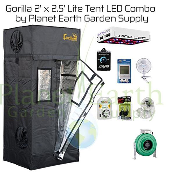 Gorilla Grow Tent Lite Series Combo Option