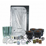 "HTG Complete 3 x 3 (39""x39""x79"") Grow Tent Package With 400-Watt HPS Grow Light"