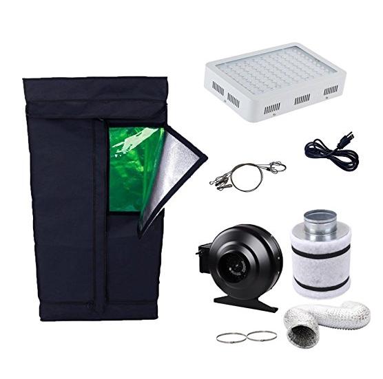 oppolite led grow light tent kit