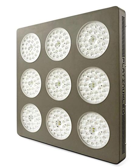Advanced Platinum Series P9-XML2 855w 12-band LED Grow Light