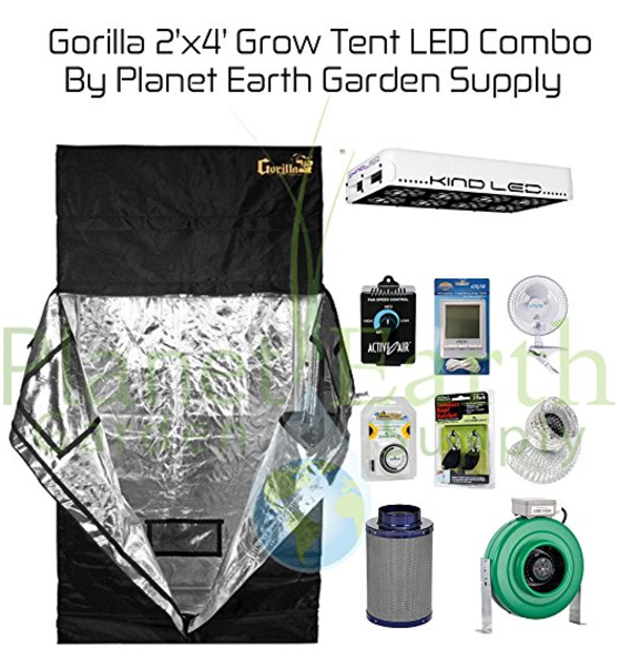 Gorilla Grow Tent LED Combo