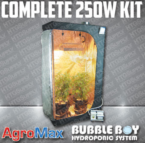 HTG AgroMax Complete Hydroponic Grow Tent