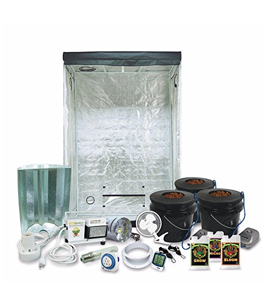 HTG Supply 2x4 Hydroponic Kit System