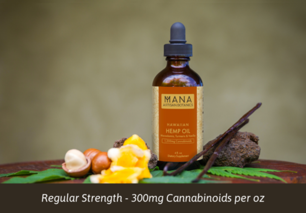 Best full spectrum CBD Oils Mana Artisan Botanics