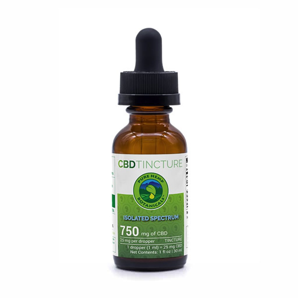 CBD Oil Isolated Spectrum Tincture
