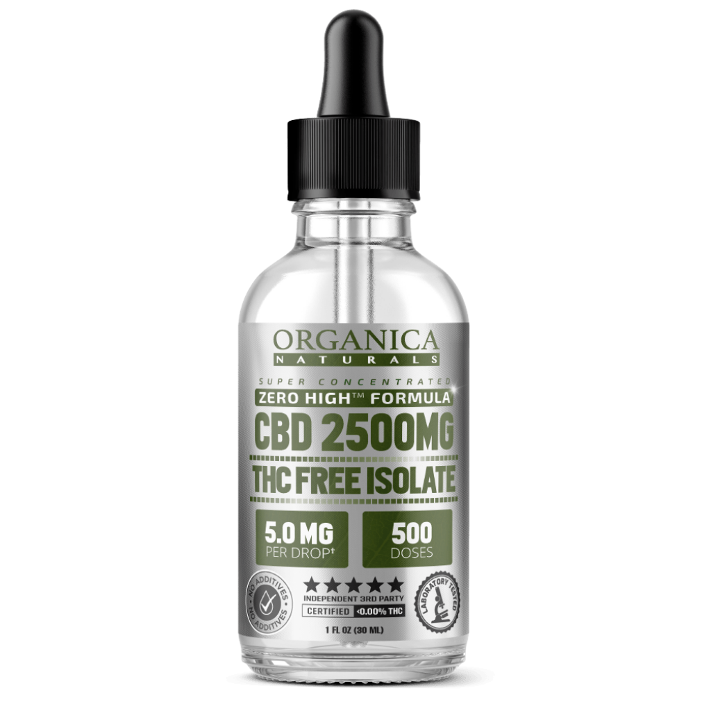 THC-Free Super Concentrated CBD Oil