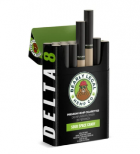 Bearly Legal Hemp Cigarettes